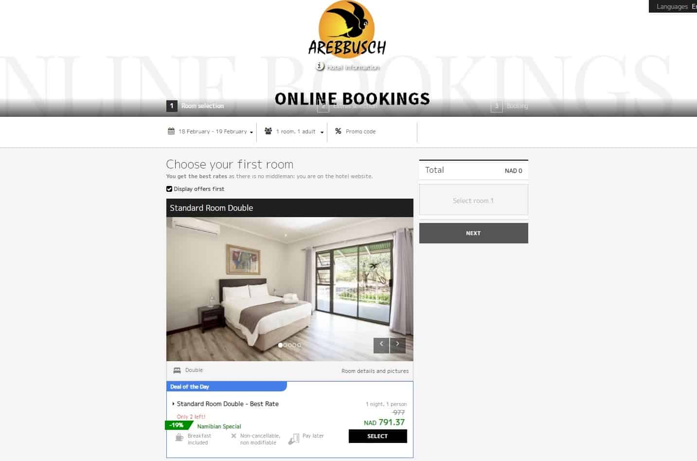 Choosing the Best Accommodation Establishment Internet Booking Engine | Robert Nienaber
